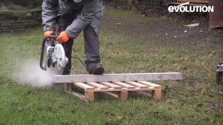 Evolution 305mm Disc Cutter: Ultimate Handyman VS petrol saws!