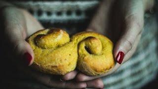 Gluten Free Swedish Saffron Buns | Baking Magique