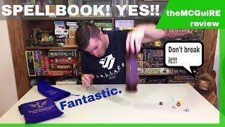 Elderwood Academy SPELLBOOK AND CODEX DICE TOWER Review