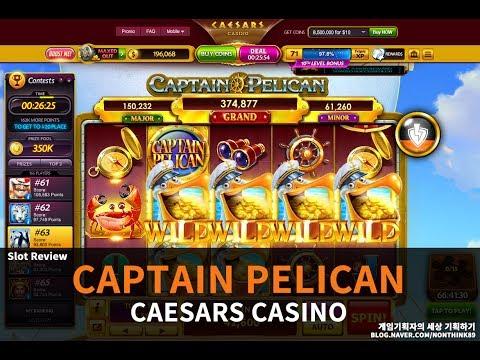 'Captain Pelican' Slot - Caesars Casino