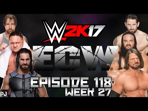 WWE 2K17 UNIVERSE MODE (EPISODE 118) ONE NIGHT STAND