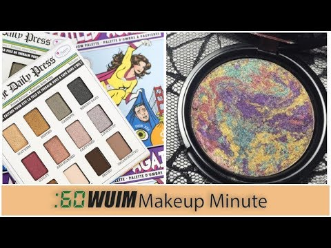 The Balm FOILED AGAIN Shadow Palette! Swirled Medusa Highlighter! | Makeup Minute