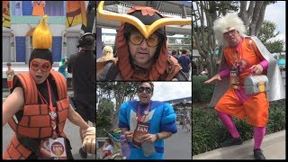 "Super ""Super"" Fan Cosplayers - Incredible Tomorrowland Expo - Screech Void Brick Reflux & Crush Hour"