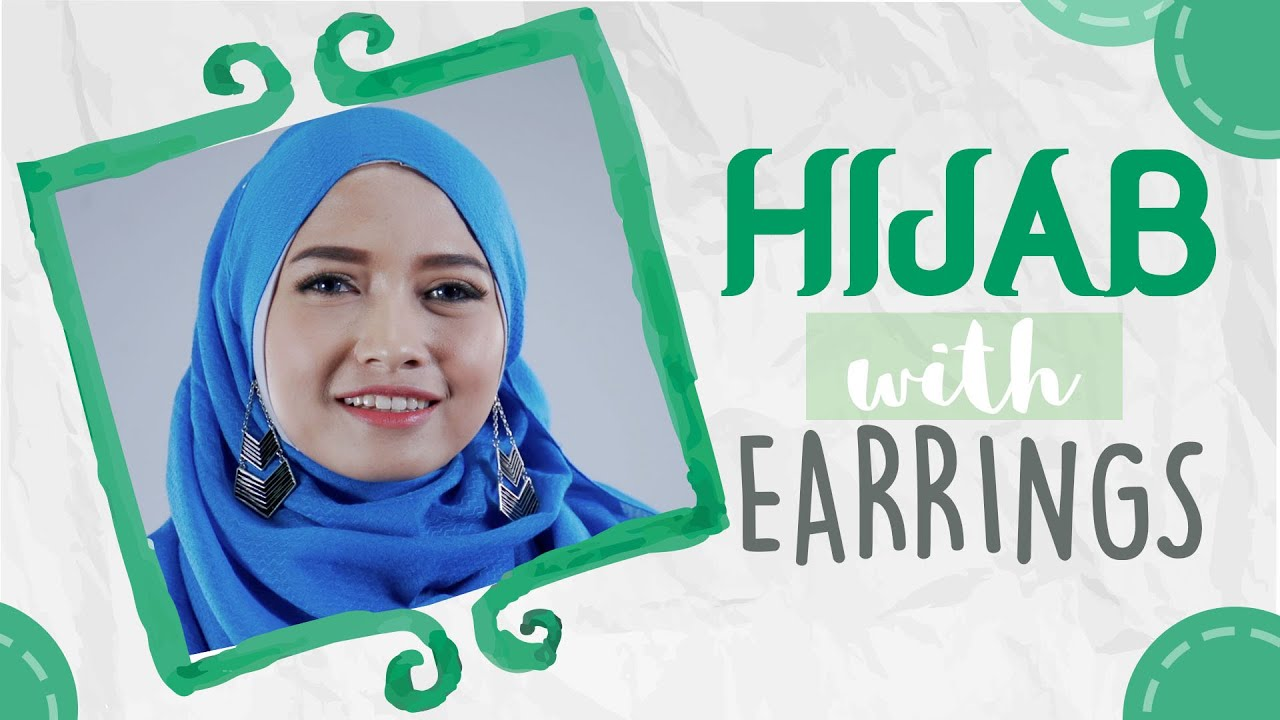 Tutorial Hijab Menggunakan Anting Hijabpop With Pandan Hijab