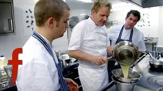Gordon Ramsay Shows How To Make A Simple Chocolate Mousse | The F Word