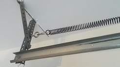 Replace a Broken Garage Door Spring