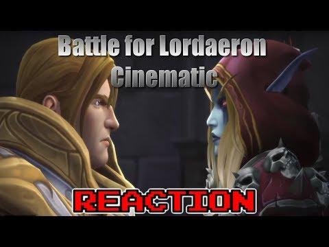 KRIMSON KB REACTS: Battle for Lordaeron Cinematic (Live Reaction)