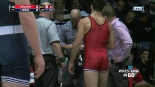 Wrestling in 60: 184 Pounds - Gravina vs. Nickal