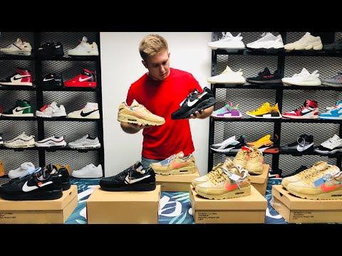 Брендовая обувь.Кроссовки из Китая.Nike Off White Air Max 90.