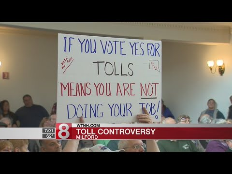Residents weigh in on electronic highway tolls forum