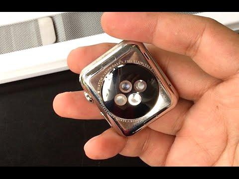 สาธิตวิธีการถอดและเปลี่ยนสาย Apple Watch