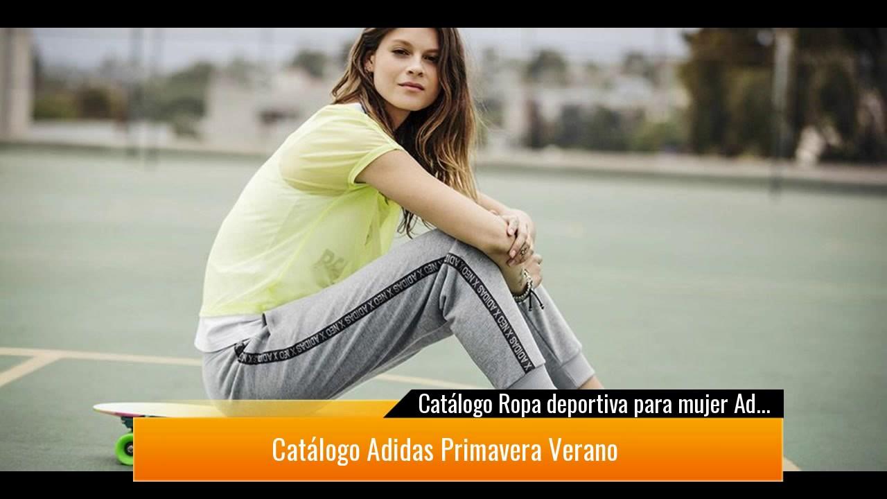 2883af0ae748c Catálogo Ropa deportiva para mujer Adidas Primavera Verano 2017 ...