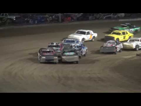IMCA Hobby Stock feature Independence Motor Speedway 6/24/17
