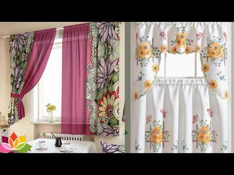50 Best Curtain Design ideas for kitchen - Kitchen Curtains Ideas