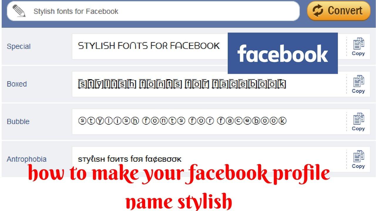 Fashion week Fb name stylish trick for girls