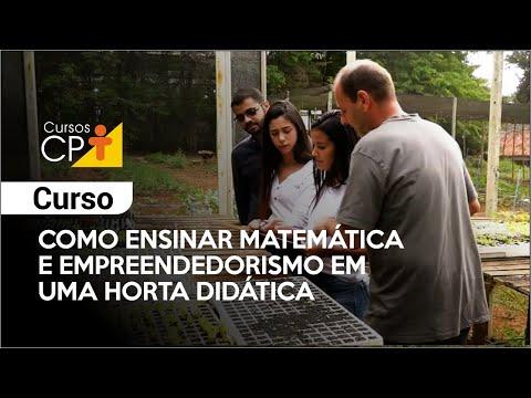 Clique e veja o vídeo Curso Como Ensinar Matemática e Empreendedorismo em uma Horta Didática