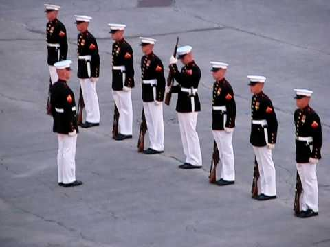 "Marines' Silent Drill with an Oops! (""Military Ceremony Fail"" ORIGINAL) from YouTube · Duration:  3 minutes 19 seconds"