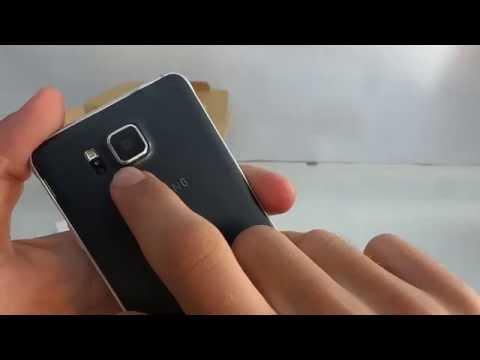 Samsung Galaxy Alpha kicsomagoló videó
