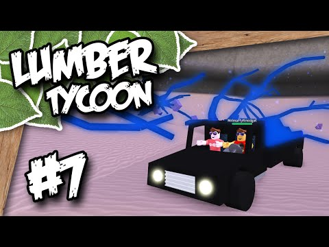 Lumber Tycoon 2 #7 - RARE BLUE TREES (Roblox Lumber Tycoon) w/Imaflynmidget