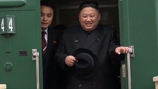 Ким Чен Ын попробовал русский каравай в Приморье