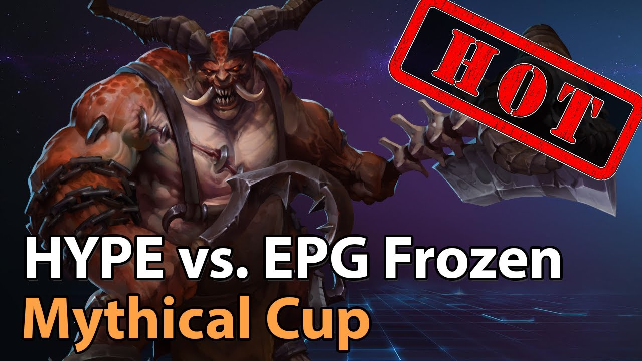 ► EPG Frozen vs. HYPE - Mythical Championship - Heroes of the Storm Esports