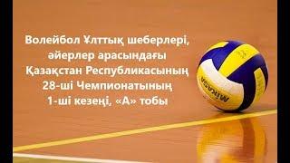 Иртыш-Казхром - Караганда. Волейбол Ұлттық шеберлері.