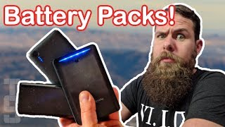 The TSA is afтer your batteries! A portable charger buying guide