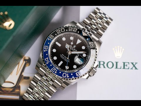 "NEW Rolex GMT Master II 126710BLNR ""Batgirl"""