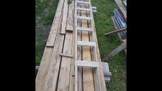 Как сделать самому лестницу