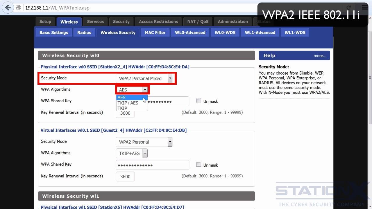 Wpa2 (Ccmp)