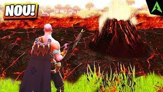 Vulcanul Din *Lava Lake* In Fortnite..