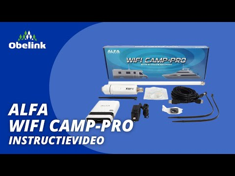 Alfa Wifi Camp Pro - Hoe krijg ik wifi op de camping? | Obelink Vrijetijdsmarkt