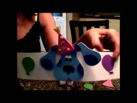Blues Clues Birthday Party Supplies - YouTube