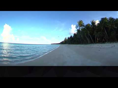 Peaceful lagoon of Arno Atoll