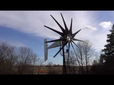 2000W Freedom 2 Wind Turbine Update