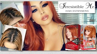 Root Touch Up  Bleaching My Hair   Color matching Irresistible Me Hair Extensions & Product Review