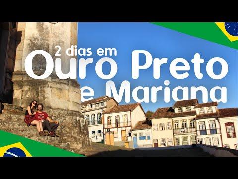 OURO PRETO E MARIANA - MG | O QUE FAZER Em 2 Dias | TURISMO
