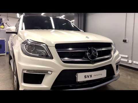 Комбинированная защита Mercedes Gl AMG
