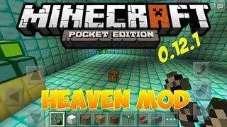 Как сделать портал в рай в Minecraft pocket edition(Мод, который добавит в игру возможность пополнить свои запасы еды, руды, и защититься от мобов! http://modmcpe.net/mody-..., 2015-12-18T18:11:34.000Z)