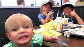 ADORABLE KIDS RAP FOR MCDONALD'S!