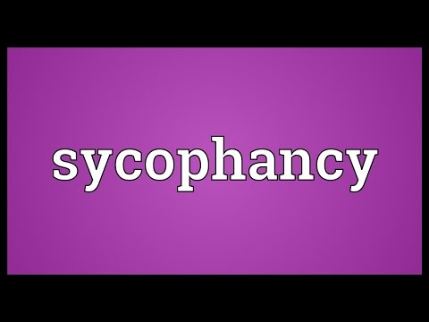 Header of sycophancy