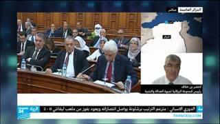 النائب لخضر بن خلاف على قناة France 24  يوم الأحد 07/02/2016 بخصوص تعديل الدستور