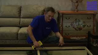 Видео-инструкция по сборке кровати Верона