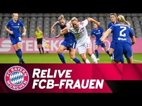 Live 🔴 | FC Bayern-Frauen - FC Chelsea Ladies | UEFA Women's Champions League 2017/18