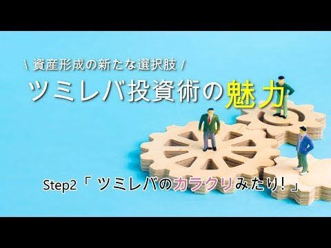 【ツミレバ投資術の魅力】Step2「ツミレバのカラクリみたり!」