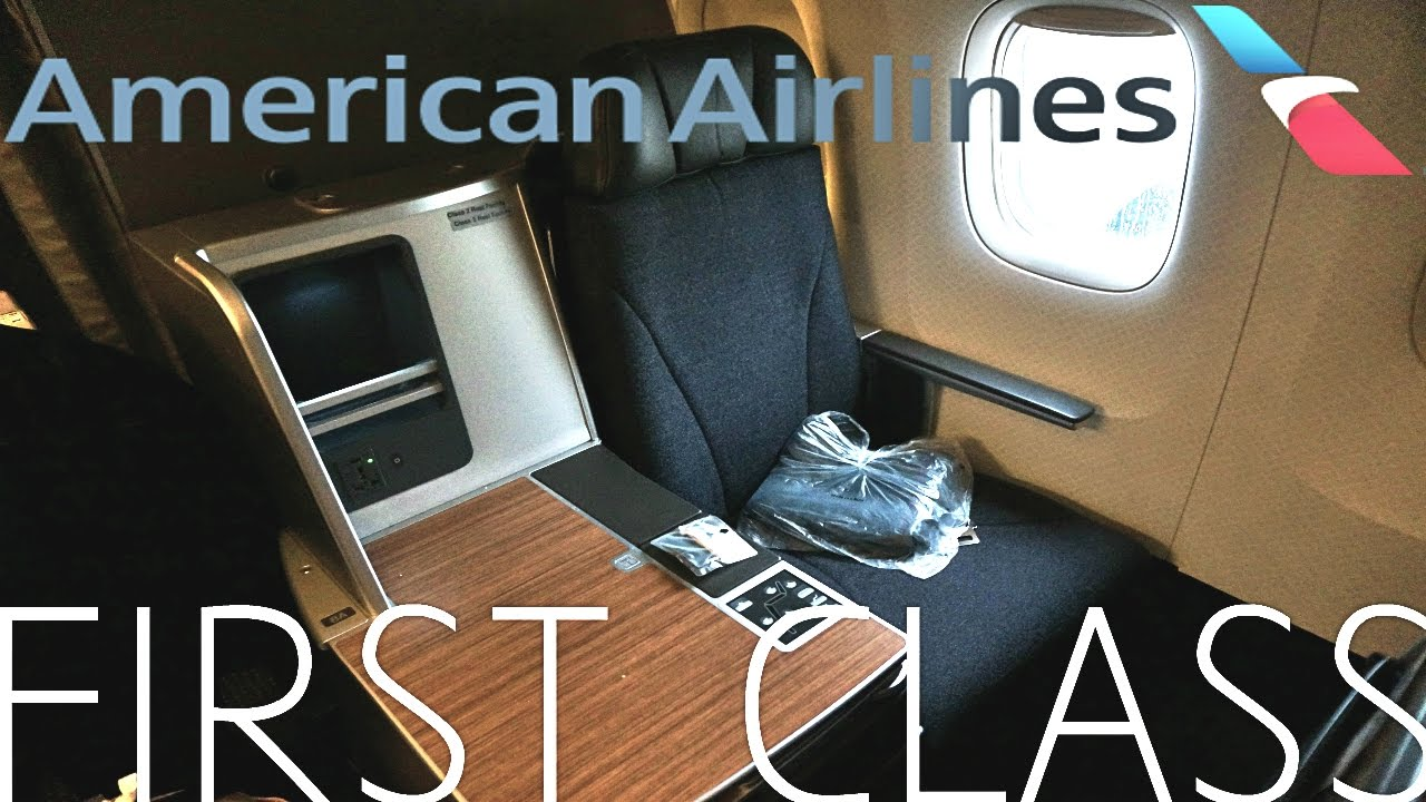 American Airlines First Class Miami To Dallas Boeing 767