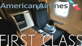 American Airlines NEW FIRST CLASS Boeing 767-300 DOMESTIC|Miami-Dallas Ft Worth TRIP REPORT