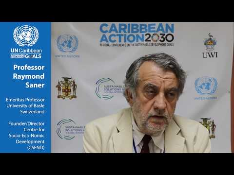 Challenges and potential solutions to financing the SDGs || Caribbean Action 2030 Conference 2017