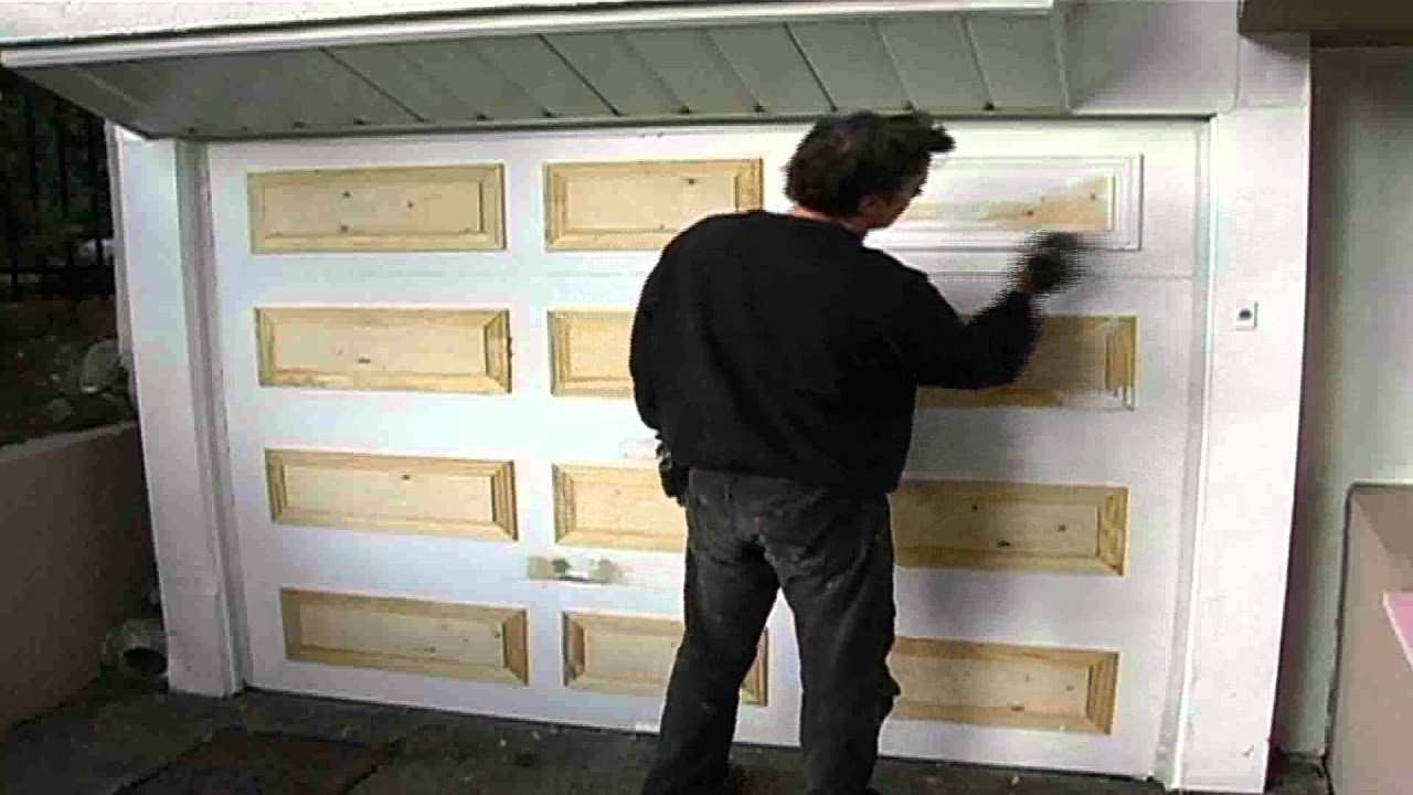 porte de bois r novation youtube. Black Bedroom Furniture Sets. Home Design Ideas