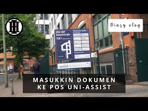 Diary Vlog #21 | Masukkin dokumen ke kotak pos uni-assist